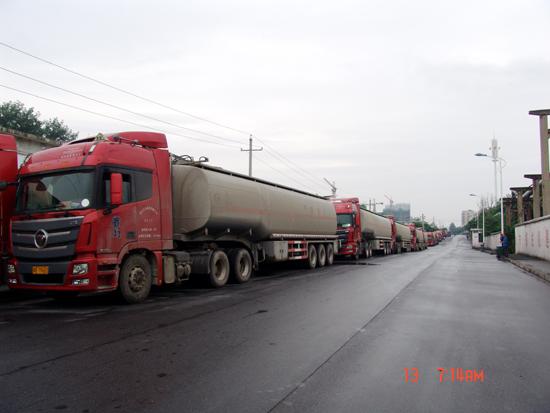 运输公司进行危险品运输专项安全检查-河南石化运输
